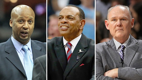 Brian Shaw, Lionel Hollins and George Karl