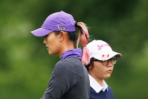 Once a prodigy herself, Michelle Wie was paired with another Friday and Saturday: 16-year-old Lydia Ko.
