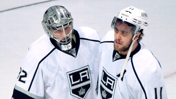 Los Angeles Kings dejection