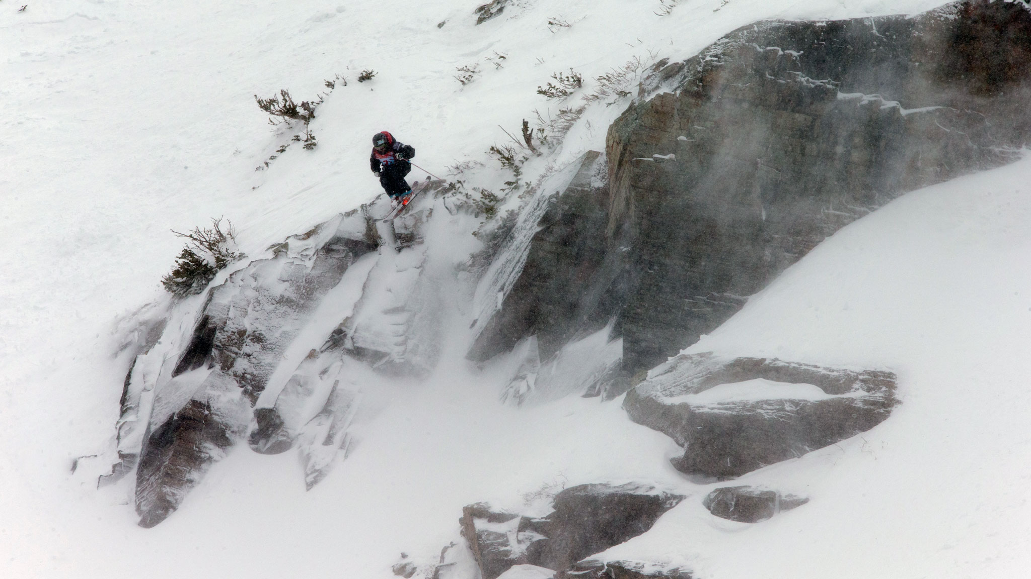 Francesca Pavillard-Cain, from Crested Butte, Colo., was the top qualifying woman to advance to next winter's Freeride World Tour.