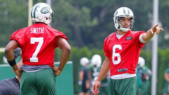 Mark Sanchez and Geno Smith
