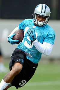 Ginn wowing Newton, Panthers with speed