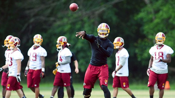 Whose job is it to keep RG III safe?