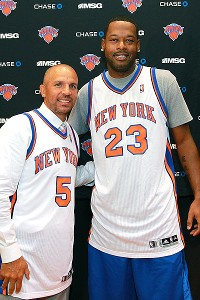 Jason Kidd and Marcus Camby