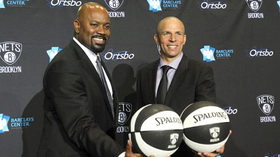 Billy King and Jason Kidd