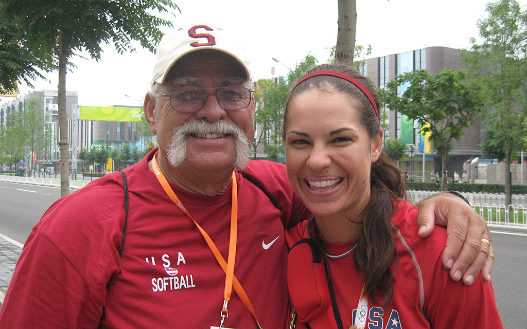 Jessica Mendoza, Olympic gold medalist in softball