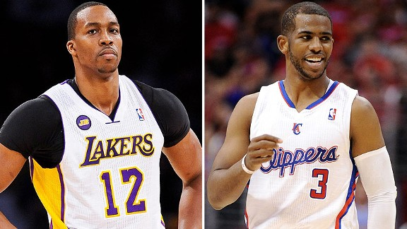 Dwight Howard and Chris Paul