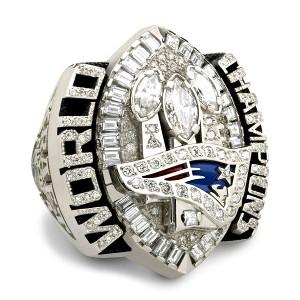Super Bowl XXXIX ring