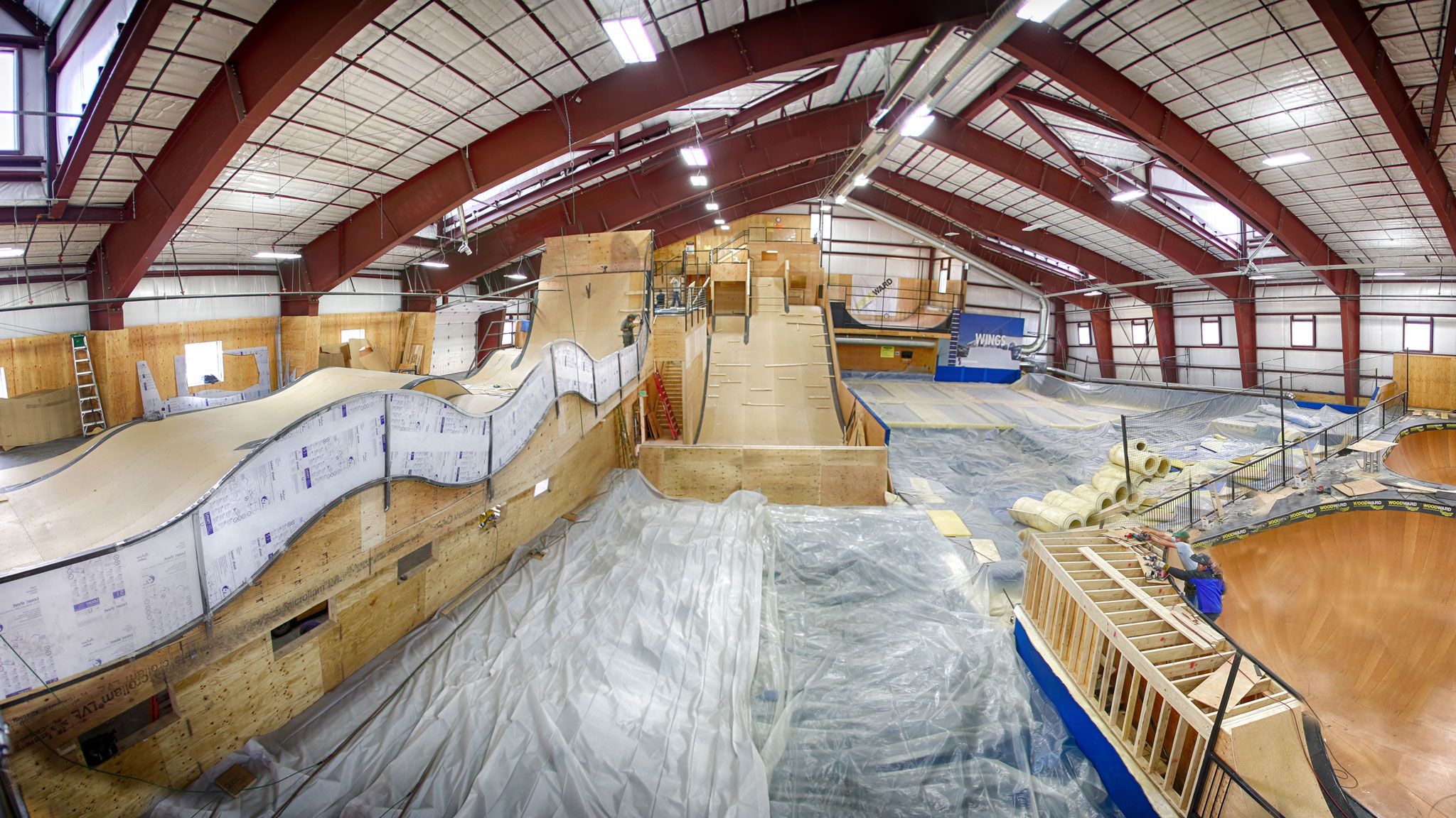 Woodward At Copper Undergoes Renovation X Games