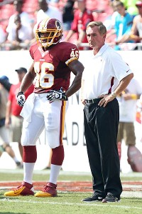 Alfred Morris and Mike Shanahan