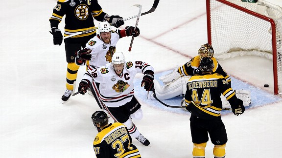 Boston Bruins dejected