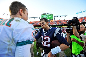 Tom Brady and Ryan Tannehill