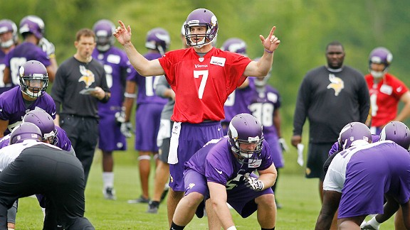 On the state of Christian Ponder's progress