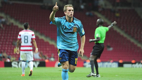 Unfairly good for this level: Gerard Deulofeu scores brilliant brace for Spain U20s (World Cup)