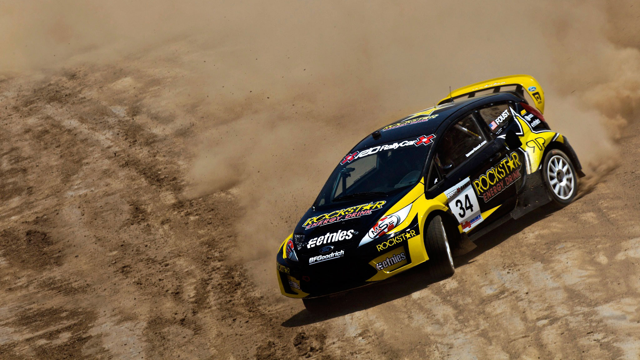 The high-spec class of cars used in X Games RallyCross are aptly named Supercars.