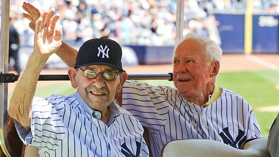 Yogi Berra and Whitey Ford
