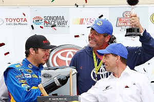 Truex Jr & Waltrip