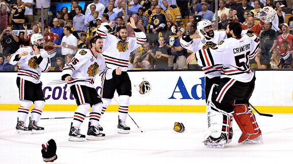 Blackhawks/Bruins