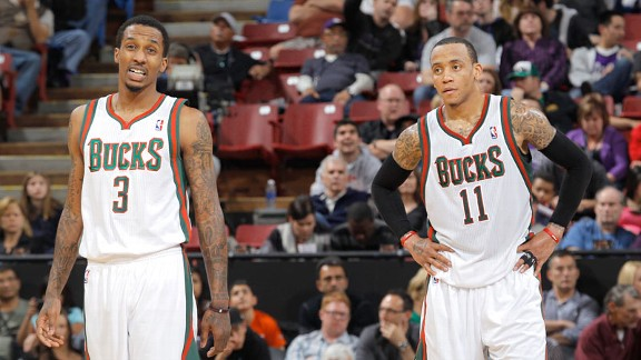 Monta Ellis and Brandon Jennings
