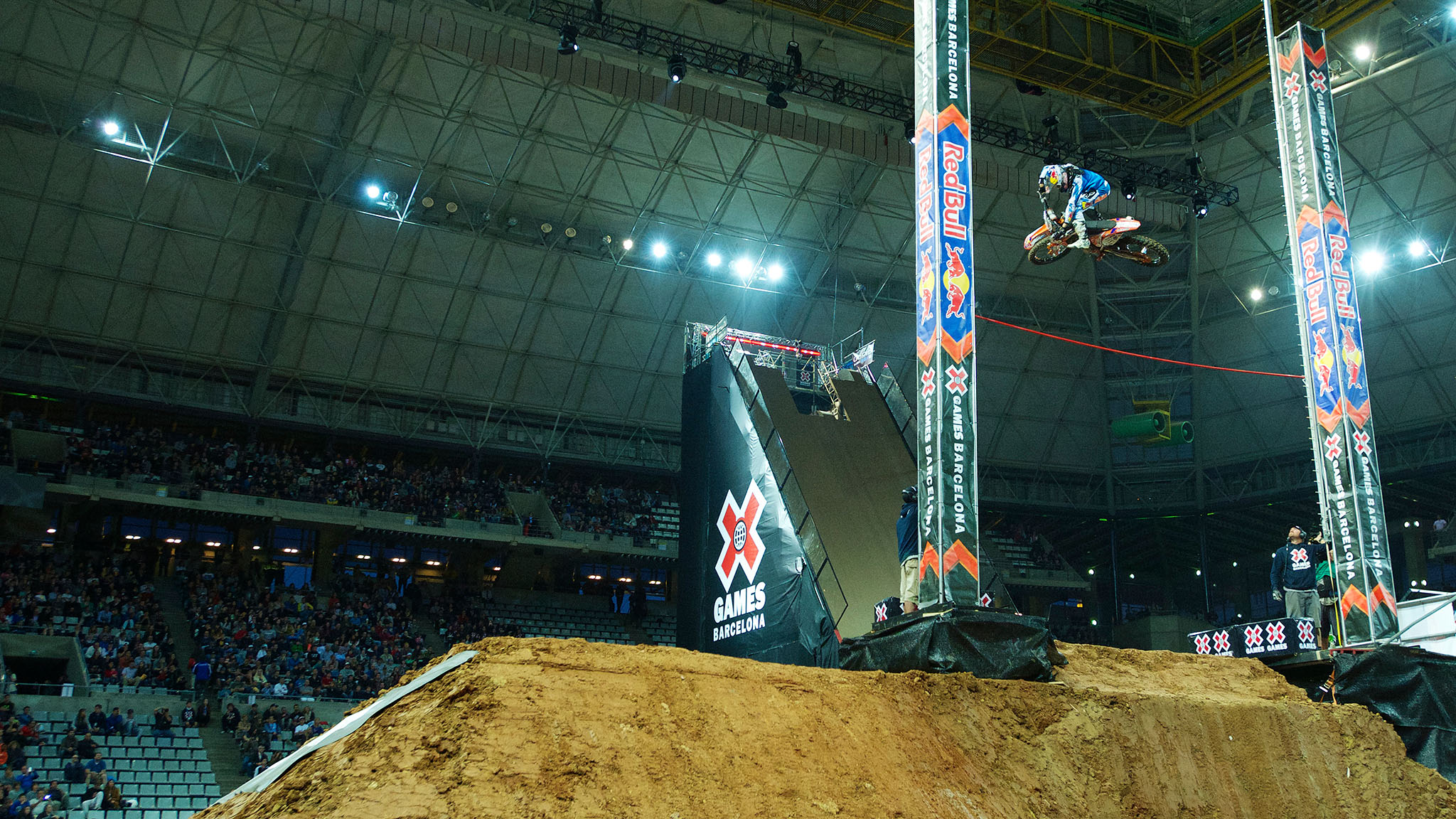 At 47 feet, Ronnie Renner holds the all-time height record in Moto X Step Up. He'll be revving for his fifth X Games Step Up gold on Friday.
