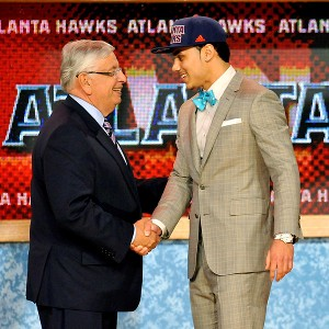 Mavs pick Shane Larkin via Atlanta at No. 18
