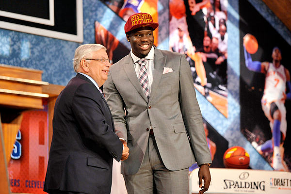 2013 NBA draft -- Anthony Bennett is the first pick  and that's the