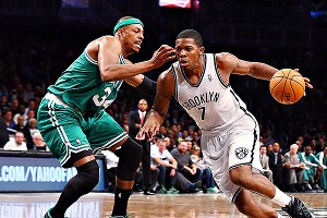 Paul Pierce and Joe Johnson