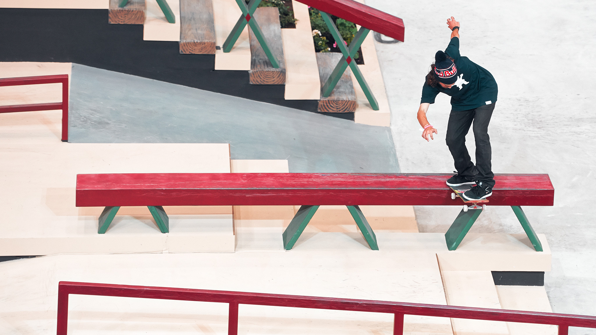 A Street League veteran and crowd favorite, Torey Pudwill advanced to the finals of Street League at X Games on Sunday with long backside tailslides and picture-perfect backside 360 ollies during the Impact section. Pudwill placed fifth in the finals.