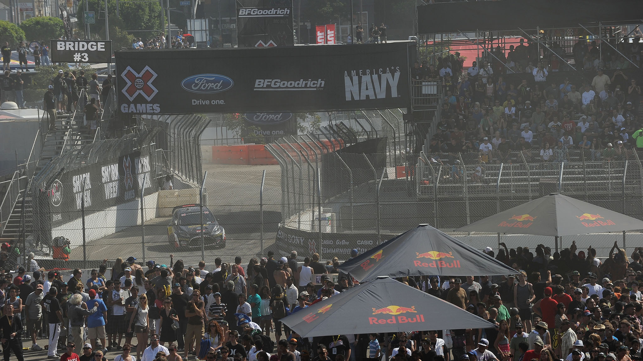 Moto X athlete and Metal Mulisha co-founder Brian Deegan won the RallyCross race at X Games L.A. in 2011. He thinks racers should be forced to earn their spots in X Games events.
