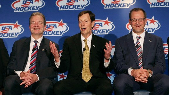 Ray Shero, David Poile and Dan Bylsma