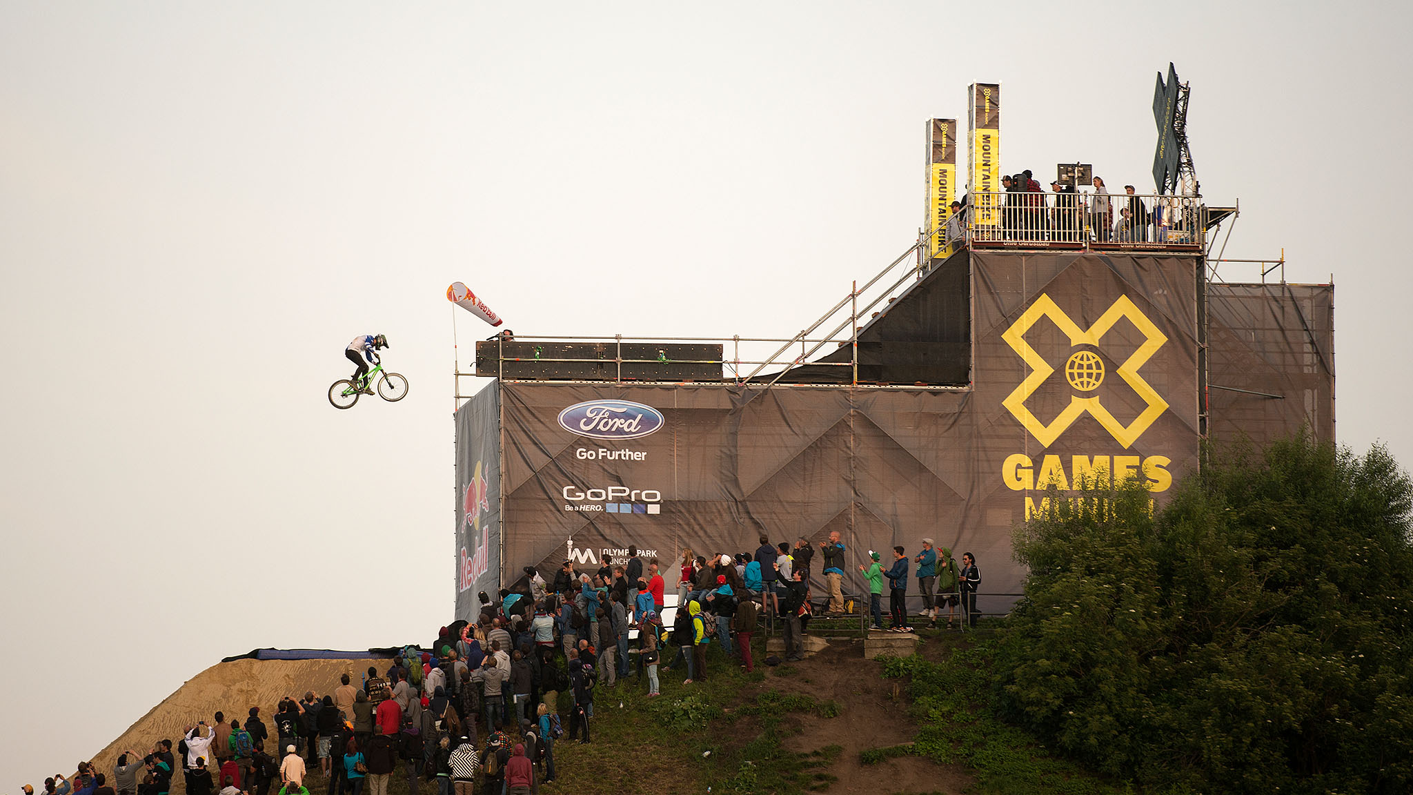 X Games has landed in Munich for the final overseas stop of 2013. Fourteen medal competitions -- including Mountain Bike Slopestyle, which made its X Games debut -- stretched over four days at the Olympiapark, which opened in 1972 for the Summer Olympics.