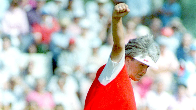 Pat Bradley claimed three major titles in 1986; the U.S. Women's Open was the one she didn't win.
