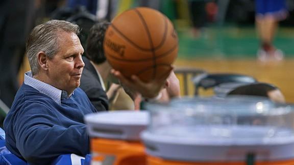 Celtics president Danny Ainge