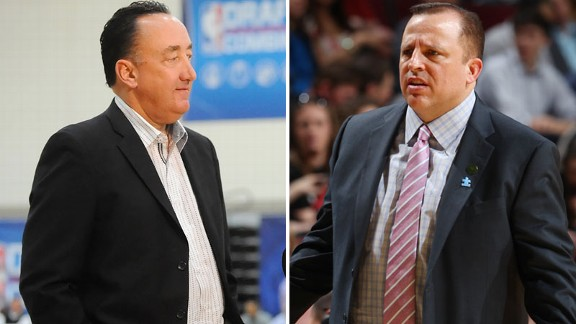 Gar Forman, Tom Thibodeau