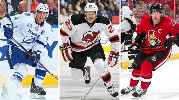Vincent Lecavalier, David Clarkson and Daniel Alfredsson all have a long list of suitors.