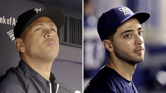 Alex Rodriguez & Ryan Braun