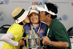 Inbee Park, who has won all three LPGA Slams this season, is part of an influx of South Korean golfers to the tour.