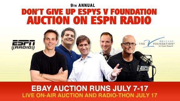 ESPYS V Foundation Auction