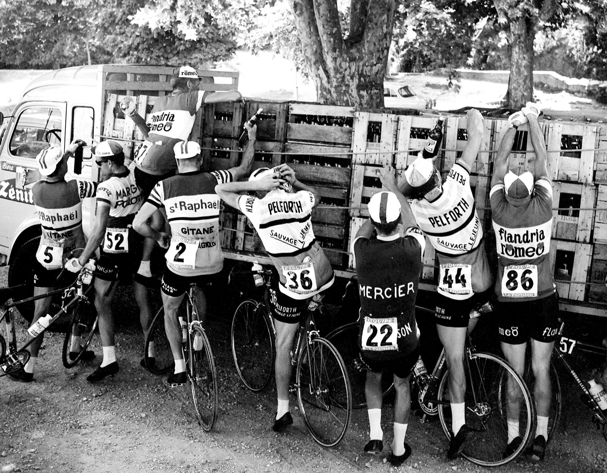 Leaders Of The Pack - Historical look at the Tour de France - ESPN