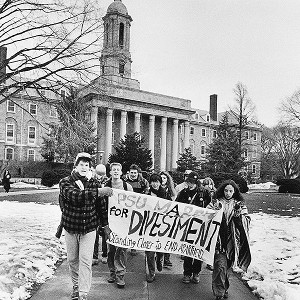 Divestment Protest