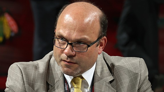 General manager Peter Chiarelli of the Boston Bruins