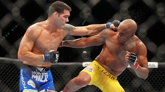 Chris Weidman Vs Anderson Silva 2