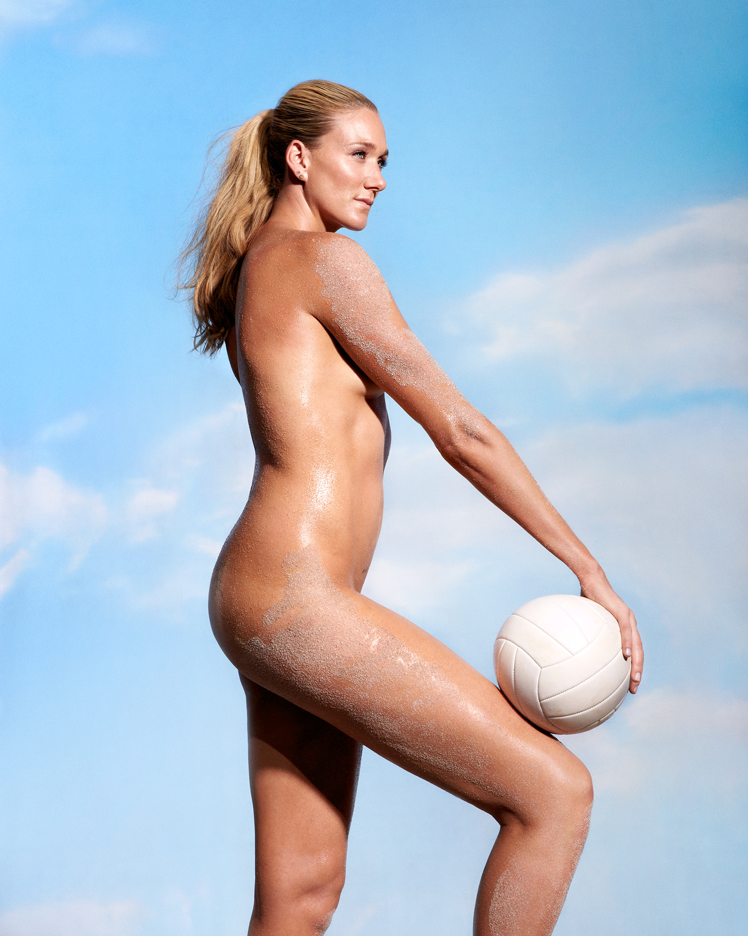 Las voleibolistas Kerri Walsh Jennings & Misty May