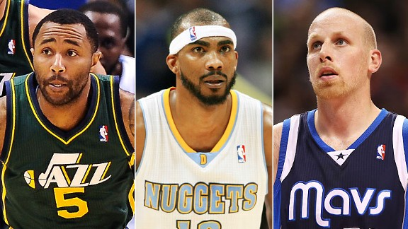 Mo Williams, Corey Brewer & Chris Kaman
