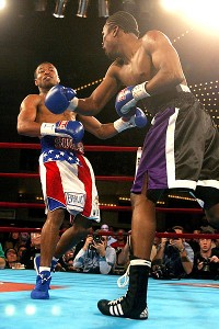 Shane Mosley and Vernon Forrest