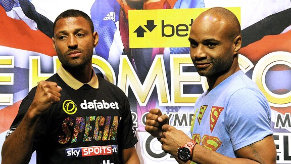 Kell Brook and Carson Jones