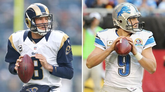 Sam Bradford and Matthews Stafford