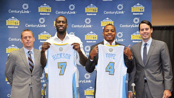 J.J. Hickson and Randy Foye