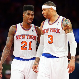 Iman Shumpert and Kenyon Martin