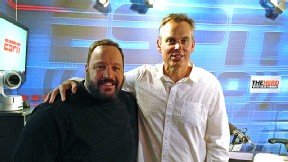 Kevin James and Colin Cowherd
